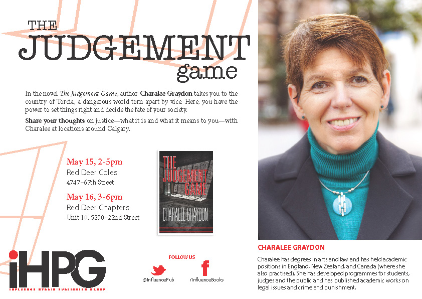 JOIN THE JUDGEMENT GAME IN RED DEER. IT IS A DIFFERENT GAME.